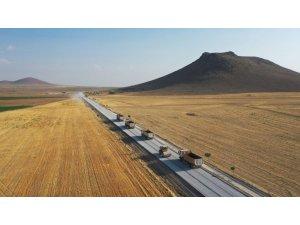 Büyükşehirden Ereğli'ye 165 kilometre mahalle yolu
