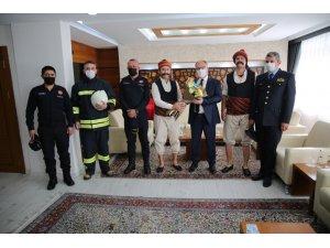 Sivas'ta yeni itfaiye binasının ihalesi yapıldı
