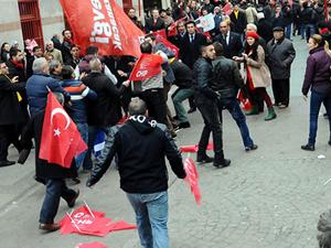 AK Partililer ile CHP'liler arasında kavga