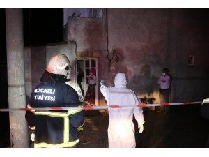 İnşaat kazısında temeli boşalan binada karantina olan 17 kişi evsiz kaldı