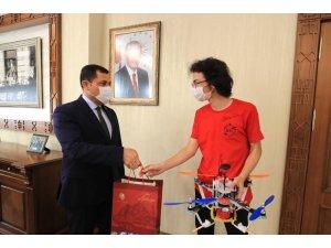 Vali Masatlı, Teknofest 2020'de Amasya'yı temsil eden öğrencileri ağırladı
