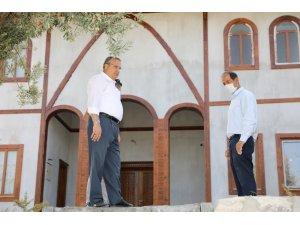 'Çapaçarık Camii ve Çevre Düzenlemesi' Projesinde çalışmalar sürüyor