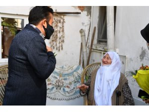 Tuzla'da Dünya Yaşlılar Günü'nde anlamlı ziyaret