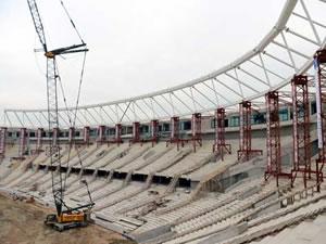 Türkiye'nin en donanımlı stadı