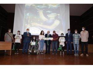 'Sağlıklı nesil sağlıklı gelecek' yarışmasında dereceye girenler ödüllendirildi