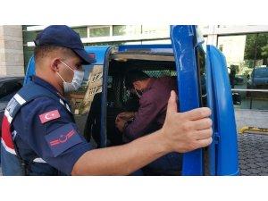 HTŞ'den gözaltına alınan yabancı uyruklu şahıs tutuklandı