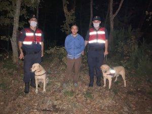 Ormanda kaybolan zihinsel engelli vatandaş ağaca sarılı şekilde uyurken bulundu