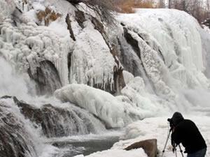 Doğu Anadolu'da 'soğuk güzellik'