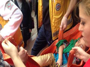 5 yaşındaki çocuğun eli yürüyen merdivene sıkıştı