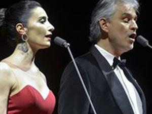Andrea Bocelli ile Sıla düet yaptı