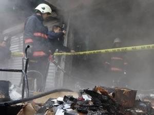 Bartın'da ev yangını: 2 kişi hastanelik oldu
