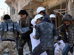 Esed güçlerinin saldırılarında 73 kişi öldü
