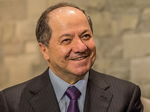 Barzani Suriye muhalefetinin temsilcilerini kabul etti