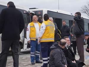 Ankara'da zincirleme kaza: 15 yaralı