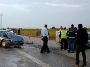 Ağrı'da zincirleme kaza: 1 ölü, 17 yaralı