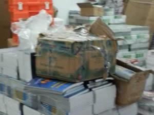 Malatya'da korsan kitap operasyonu