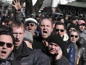 Kırım'da 'Ukrayna' gerilimi