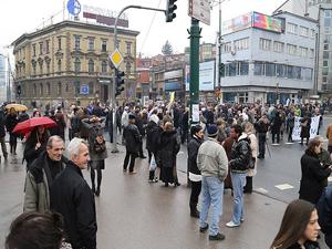 Bosna'daki protestoların artçı sarsıntıları