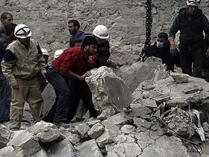 Suriye'de hava destekli ölüm