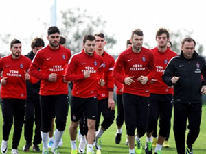 Torku Konyaspor maçına hazırlanıyor