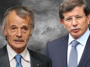 Davutoğlu Kırım liderlerinden Kırımoğlu ile görüştü