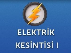 Tekirdağ'da elektrik kesintisi