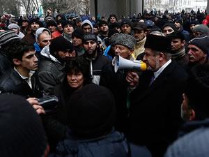 Kırım Tatarları'nın acıları tazelendi
