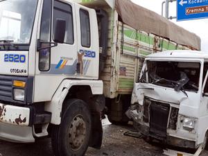 Kaza da 11 öğretmen yaralandı