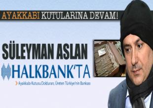 Süleyman Aslan yeniden Halkbankası'nda