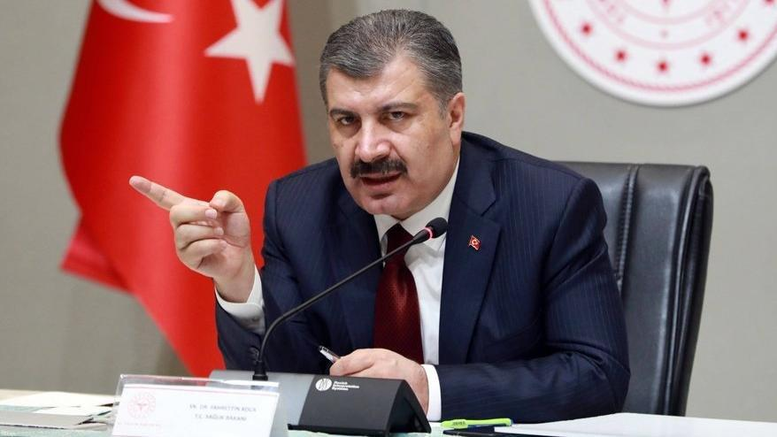 Bakan Koca'dan açıkladı: İstanbul ve Bursa'da artış eğilimi var