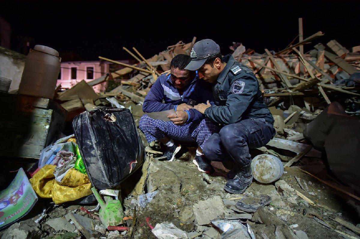 Ermenistan sivilleri uykudayken vurdu: 2'si çocuk 12 ölü