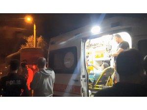 Evine giderken silahlı saldırıda yaralandı