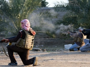 Irak'ta silahlı saldırı: 2 ölü