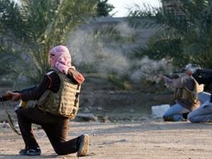 Irak'ta 24 militan öldürüldü