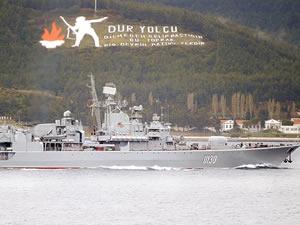 Boğaz'dan geçen Ukrayna savaş gemisinde isyan çıktı
