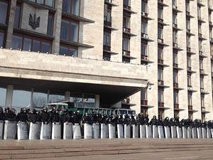 Donetsk Valiliği boşaltıldı
