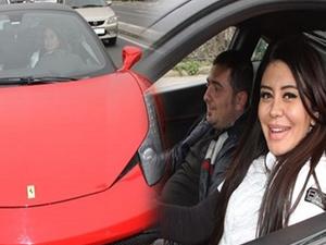 Ebru Polat'ın Ferrari'si kiralık çıktı