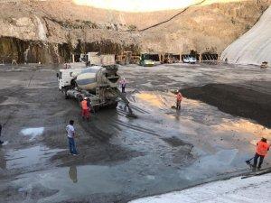İnandık Barajında SSB imalatı başladı