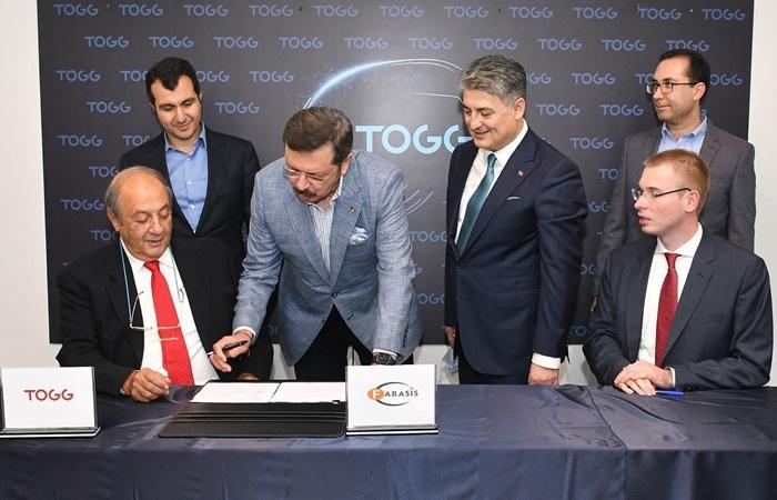 TOGG'dan batarya üretimi için önemli adım