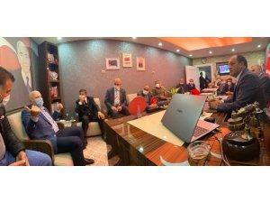 Başkan Sekmen'den Karataş'a hayırlı olsun ziyareti