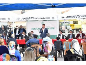 Başkan Dinçer, Aratol Mahallesi sakinlerini dinledi