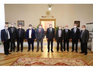 Başkan Gürün'den muhtarlara, Pandemi teşekkürü