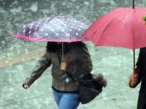Kuvvetli yağış ve sıcak düşüşlerine dikkat!