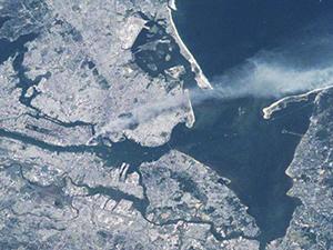 11 Eylül'ü uzaydan görüntüledi