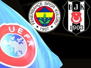 UEFA son noktayı koydu! F.Bahçe ve Beşiktaş...
