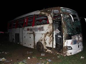 Afyonkarahisar'da trafik kazası: 1 ölü, 23 yaralı