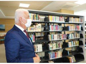 Büyükşehir kütüphanesi dijital erişime açılacak