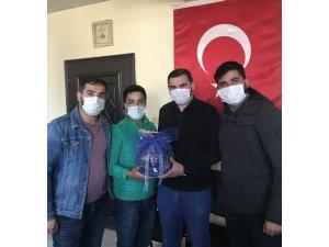 AK Parti Sarıkamış Gençlik Kollarından Yıldırım'a ziyaret