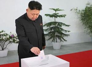 Kuzey Kore'de bayram gibi seçim