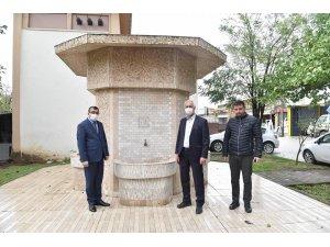 Çan'da küçük sanayi sitesinin içme suyu problemi çözüldü
